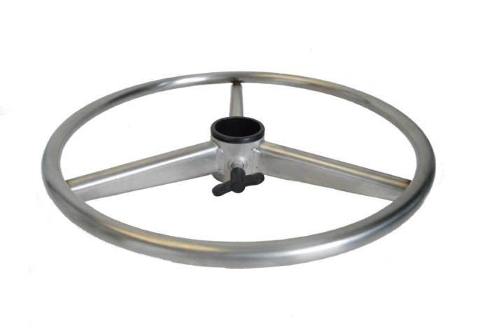 Ricambi Sedute Per Sgabelli : Anello regolabile in acciaio inox con volantino per sgabello uni