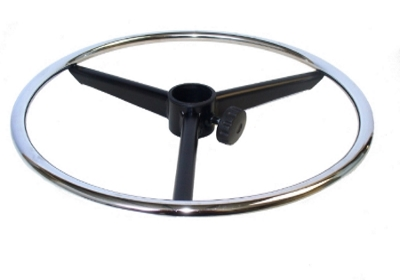 Anello regolabile con volantino per sgabello uni form srl